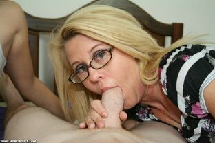 mom gives me a blowjob