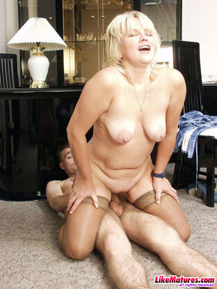 hot blonde matures